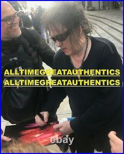 The Cure Band Signed Pornography Record Album Vinyl Lp Robert Smith Beckett Coa