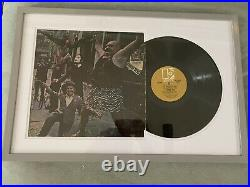 The Doors Signed Autographed (by All) Framed Vinyl Record Album Jim Morrison Coa