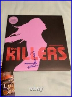 The Killers Signed Album Vinyl Lp Record 45 Brandon Flowers Ronnie V Jsa Coa
