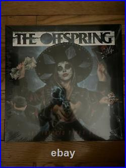 The Offspring Signed Autograph Let The Bad Times Roll Sky Blue Vinyl Album