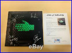 The Raconteurs Signed Vinyl Album Jack White White Stripes #1 PSA/DNA LETTER