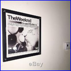 The Weeknd House of Balloons Autographed Vinyl Record Album
