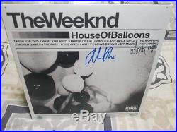 The Weeknd House of Balloons Autographed Vinyl Record Album with COA
