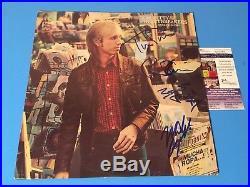 Tom Petty Heartbreakers Signed Auto Vinyl Record Album JSA Certified COA