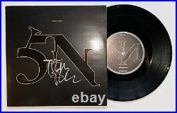 Trent Reznor Autographed Nine Inch Nails Vinyl 45 Single Album sign Beckett BAS