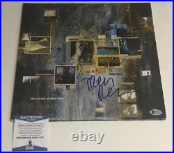 Trent Reznor Signed Nine Inch Nails Nin Hesitation Marks Vinyl Album Bas Coa