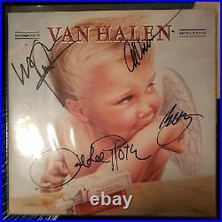 VAN HALEN signed lp vinyl album 1984 EDDIE VAN HALEN