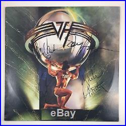 Van Halen Eddie Alex Sammy Hagar Signed Autographed 5150 Vinyl Album COA