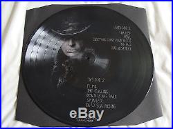 Vinyl Double Picture Album Gary Numan Here In The Black Live SIGNED