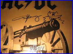 WITH EXACT PHOTO PROOF of Angus Young AC/DC ORIGINAL SIGNED Vinyl LP Album