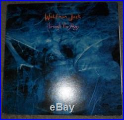 Wolfman Jack (rip) Autographed Vinyl Album With Sketch- Robert Weston Smith