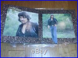 Waylon Jennings Are You Ready Country Signed Autographed Vinyl Record Album COA