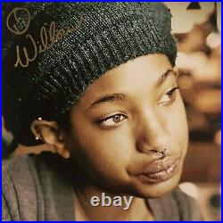 Willow Smith Signed Autographed Vinyl Size The 1st Album Photo MSFTS JSA COA