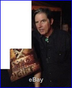 X Band Signed Vinyl Wild Gift Album Very Rare Exene John Doe Los Angeles Proof