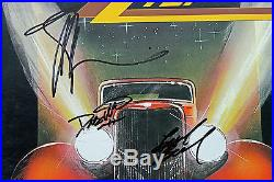 ZZ Top (Gibbons, Hill & Beard) Signed Album Cover With Vinyl PSA/DNA #AB08107
